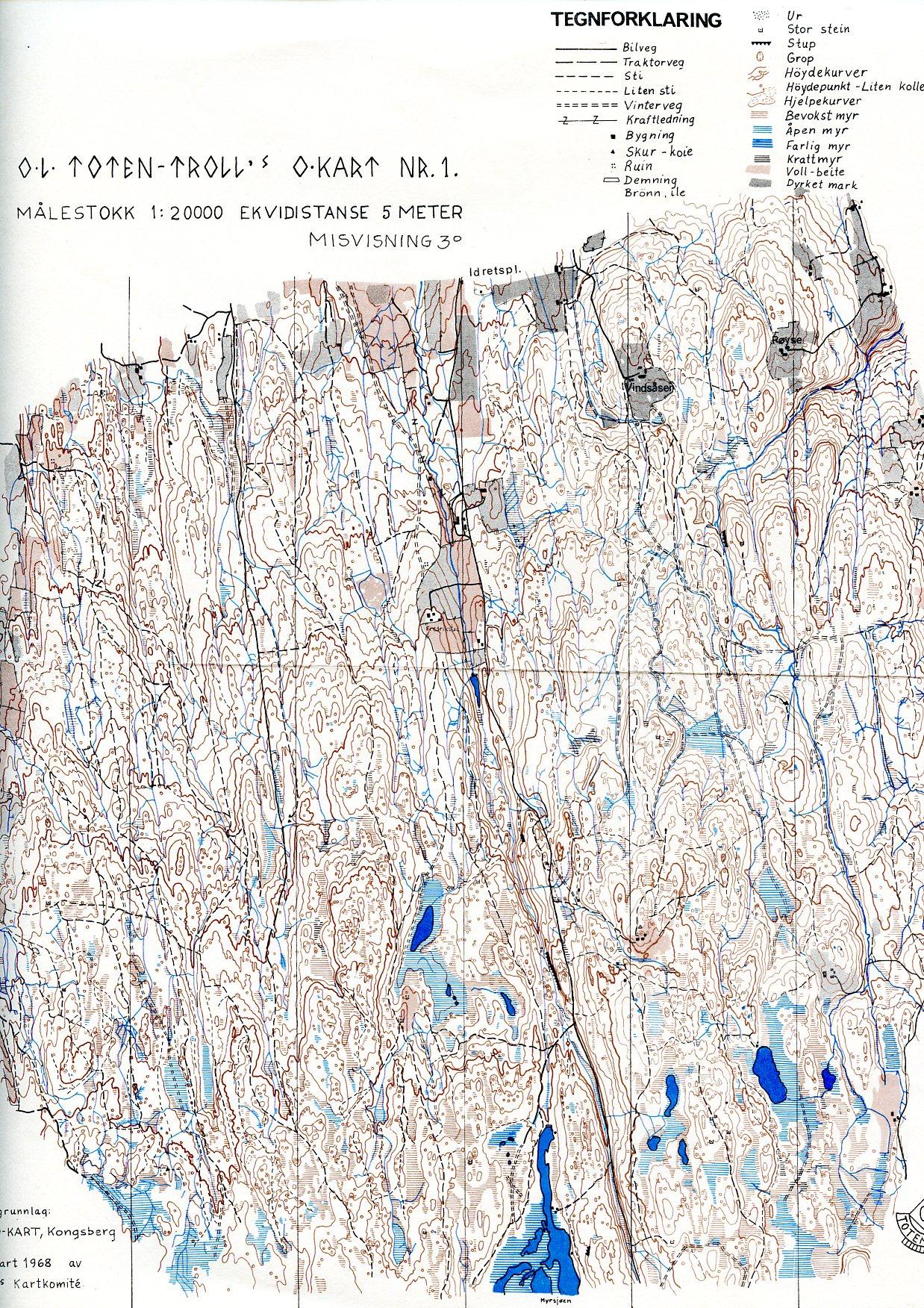 totenåsen kart Historikk – OL Toten Troll totenåsen kart